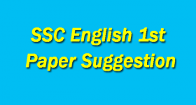 SSC English 1st Paper Suggestion