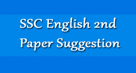 SSC English 2nd Paper Suggestion